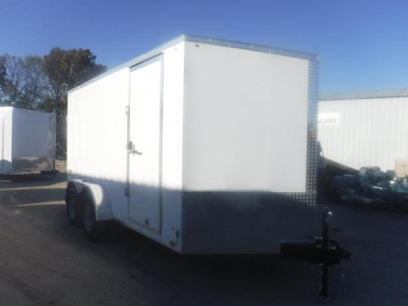 2020 Look Trailers 7 x 14 Ele Slant V-Nose Enclosed Cargo Trailer