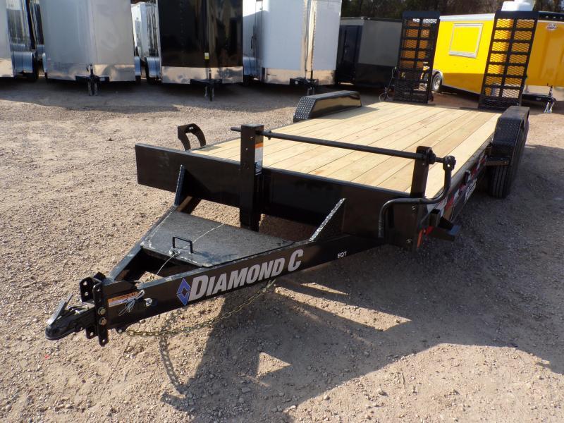2020 Diamond C Trailers 82x20 Diamond C EQT 207 Equipment Trailer