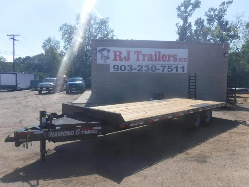 2019 Diamond C Trailers 102 x 24 DEC207 Equipment Trailer