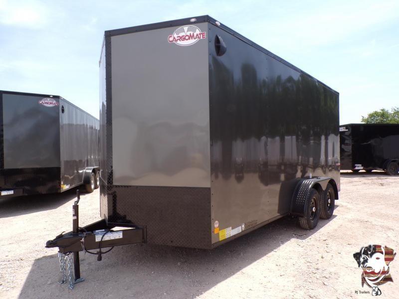 2021 Cargo Mate 7 x 16 E-Series Enclosed Cargo Trailer