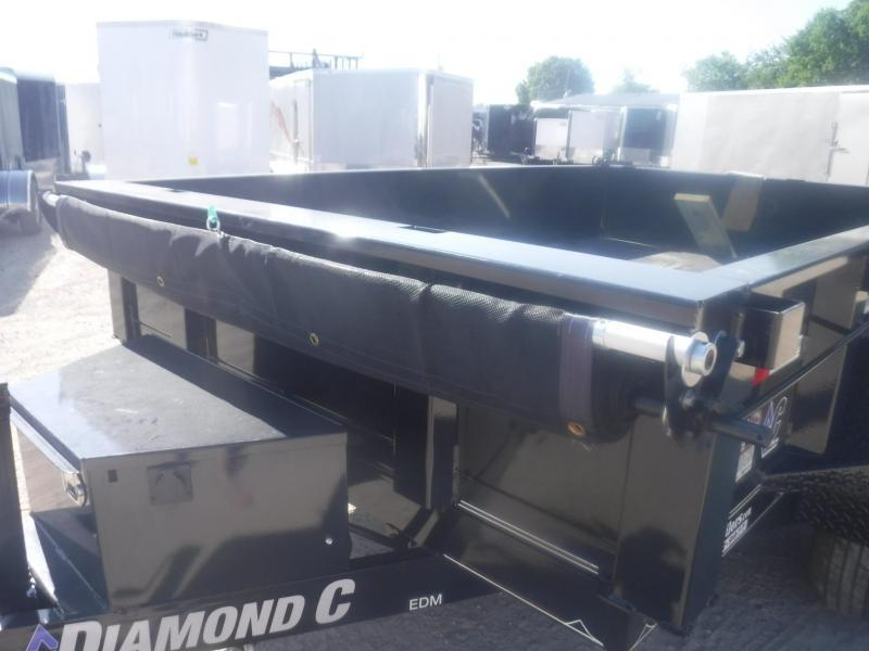 2019 Diamond C Trailers 77 x 10 EDM Dump Trailer