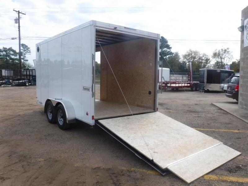 2020 Haulmark 7 x 14 Transport V-Nose Enclosed Cargo Trailer