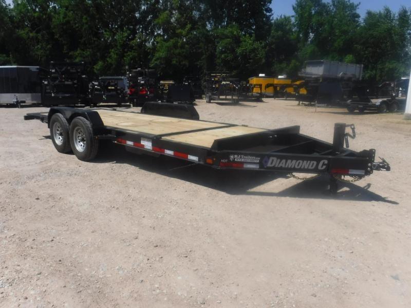 2020 Diamond C Trailer 82 x 20 HDT207 Tilt  Equipment Trailer