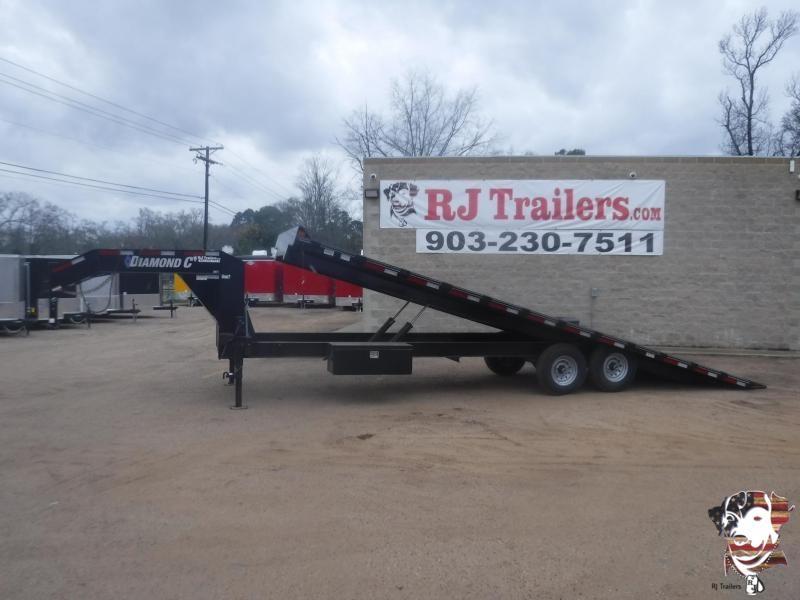2019 Diamond C Trailers 102 x 26 DEC Full Tilt Equipment Trailer
