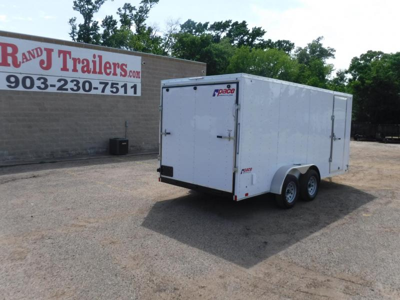 2019 Pace 7 x 16 Journey Enclosed Cargo Trailer