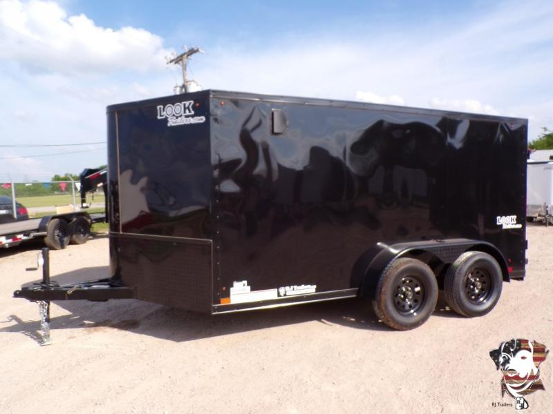 2021 Look Trailers 7x12 Low Hauler Motorcycle Trailer