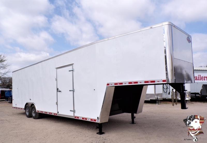 2021 Cargo Mate 8.5 x 36 Gooseneck Enclosed Cargo Trailer