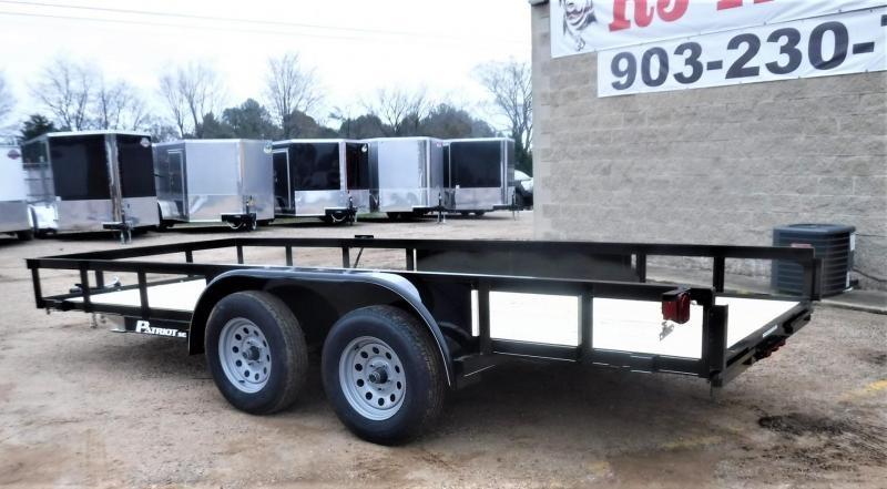 2020 TexLine 77 x 16 TA Patriot Utility Trailer