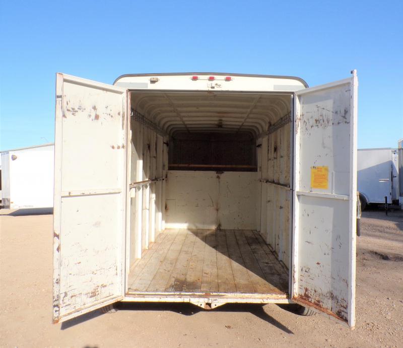2004 W-W Trailer 22' Steel Gooseneck Enclosed Cargo Trailer