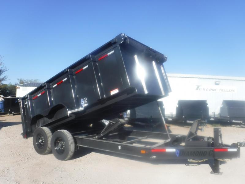 2020 Diamond C Trailers 82 x 14 LPD207 Dump Trailer