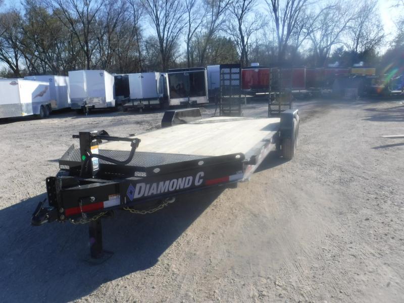 2019 Diamond C 82 x 20 LPX207 Equipment Trailer