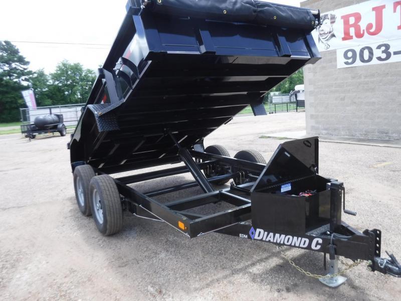 2019 Diamond C Trailers 77 x 12 46ED Dump Trailer
