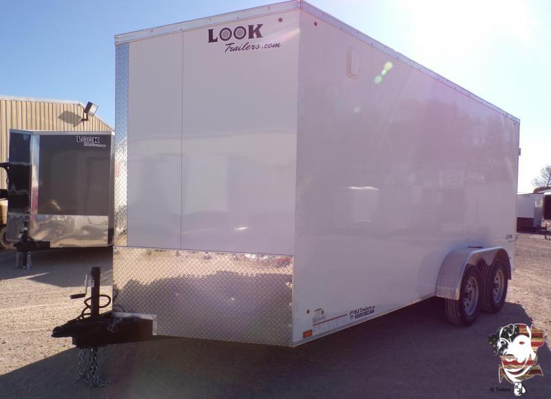 2020 Look 7 x 14 Element  Enclosed Cargo Trailer