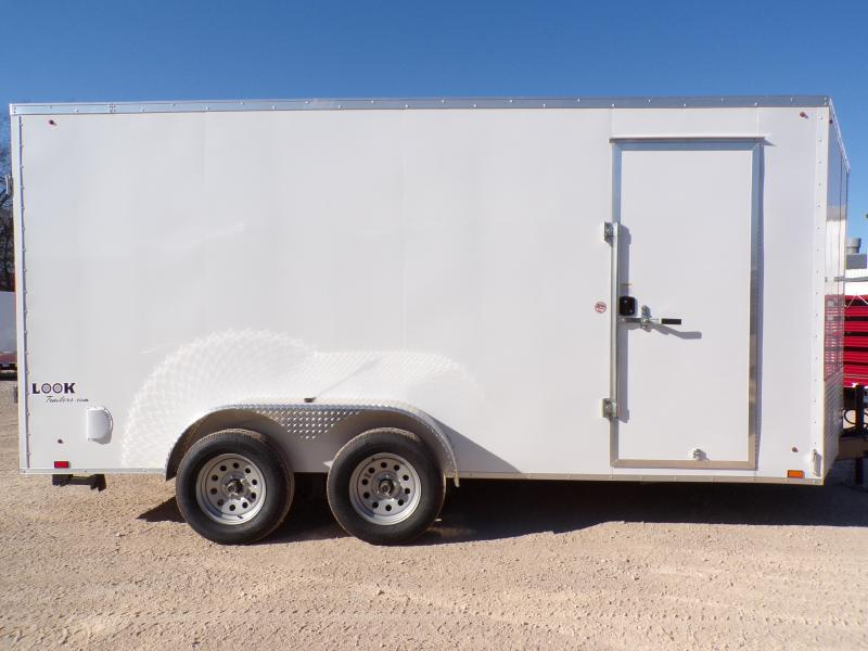 2020 Look 7 x 14 Element  Enclosed Cargo Trailer