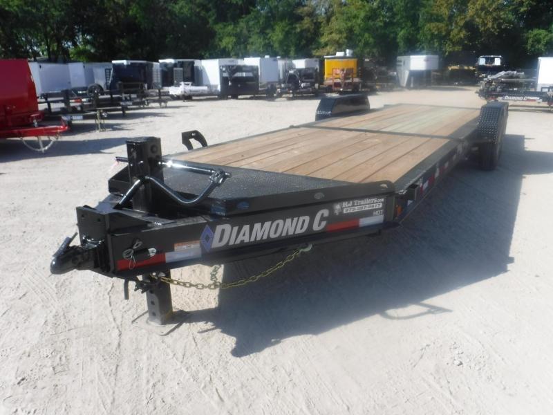 2019 Diamond C Trailers 82 x 24 HDT208 Equipment Trailer