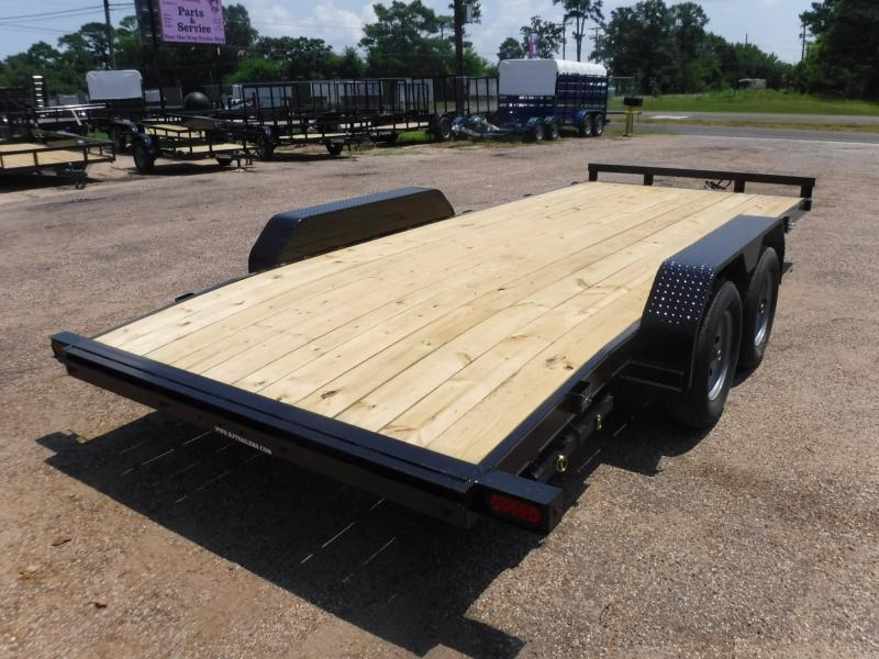 2019 TexLine 83 x 18 Deluxe Car / Racing Trailer