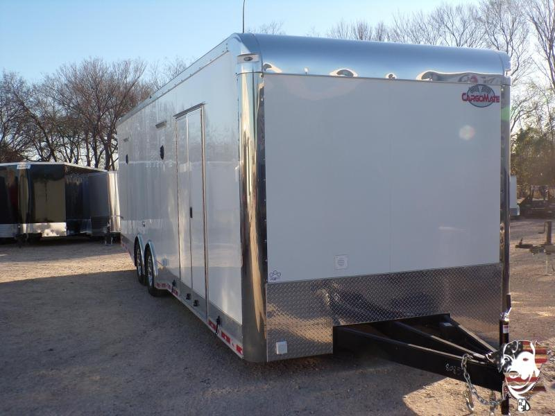2020 Cargo Mate 8.5 x 28 Eliminator Car / Racing Trailer
