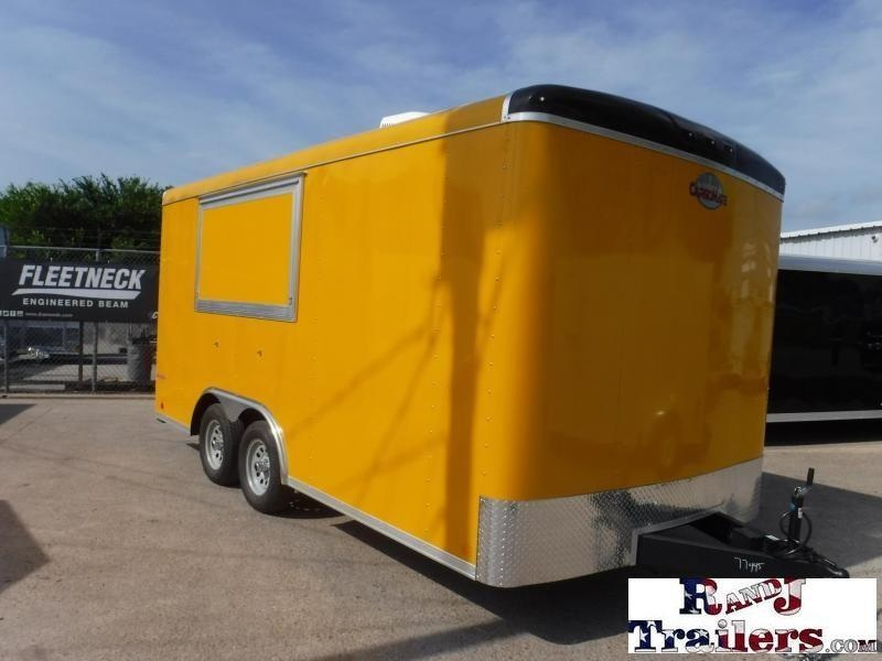 2018 Cargo Mate 8.5 x 16 Blazer Vending / Concession Trailer