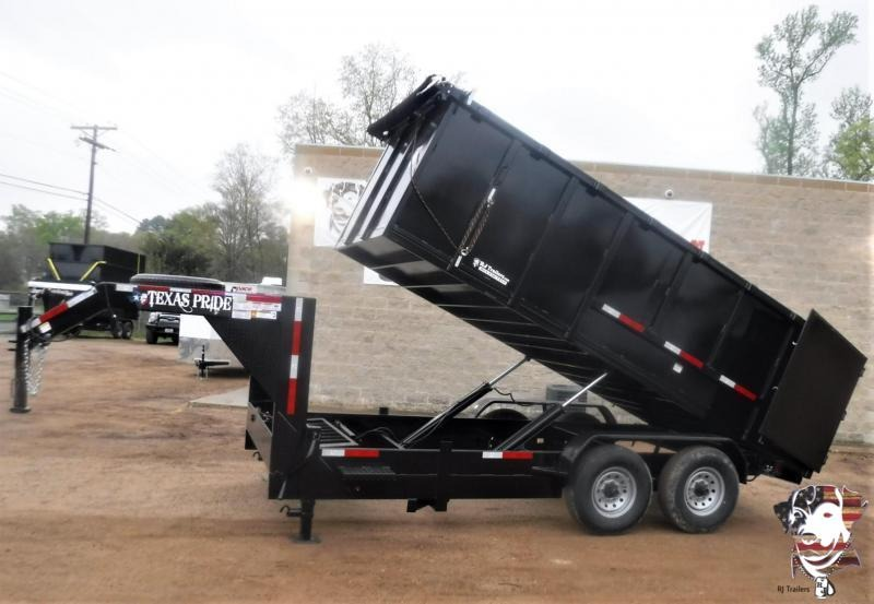2020 Texas Pride Trailers 80 x 16 Gooseneck Dump Trailer