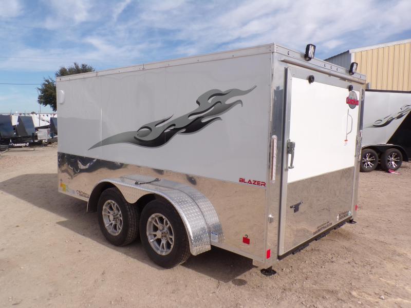 2020 Cargo Mate 7 x 12 Blazer Low Hauler Motorcycle Trailer