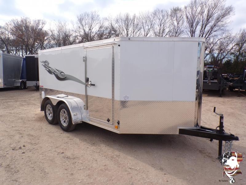 2020 Cargo Mate 7 x 12 Blazer Low Hauler Motorcycle Trailer