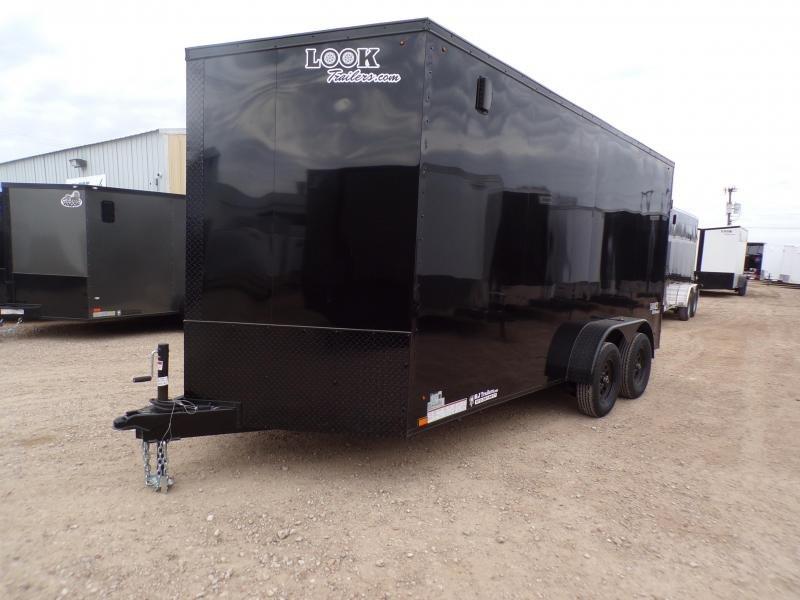 2020 Look Trailers 7 x 16 Ele Slant-V-Nose Enclosed Cargo Trailer