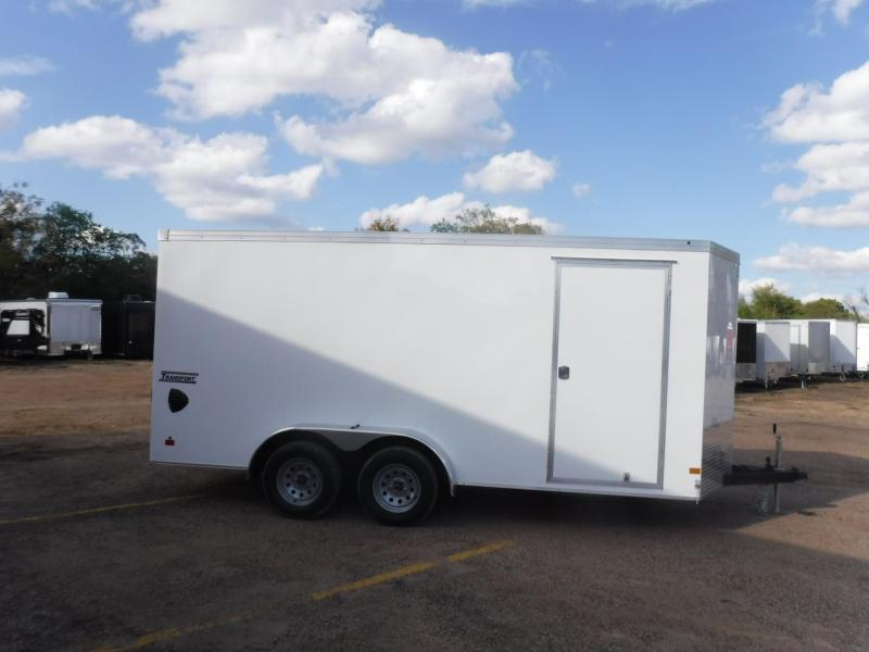 2020 Haulmark 7 x 16 Transport V-Nose Enclosed Cargo Trailer