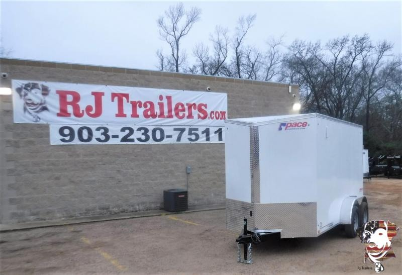 2020 Pace American 6 x 12 TA Journey SE Cargo Trailer