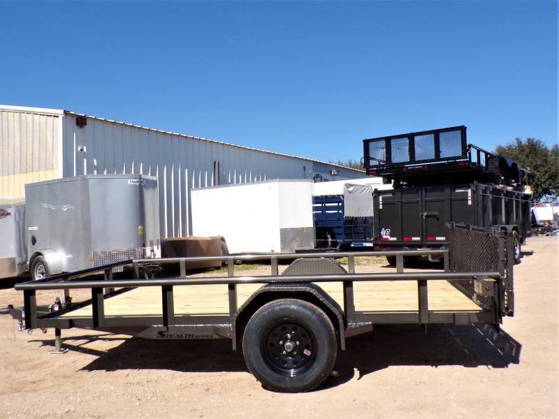 2020 TexLine 77 x 12 Stealth Utility Trailer