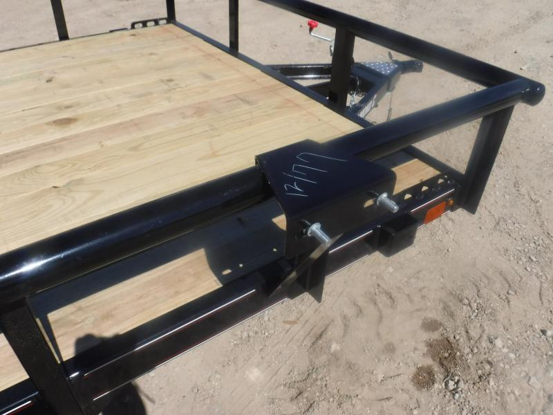 2019 Diamond C 77 x 12 PSA Utility Trailer