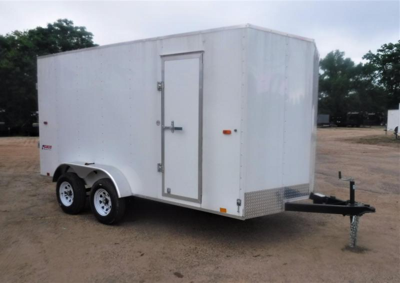2021 Pace American 7 x 14 Pace Journey Enclosed Cargo Trailer