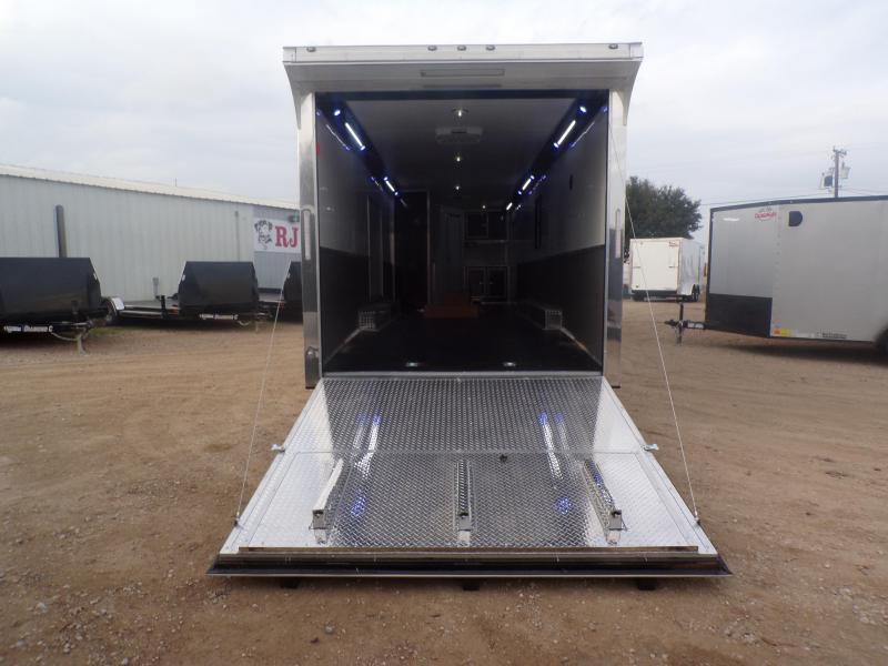 2020 Cargo Mate 8.5 x 34 Eliminator Car / Racing Trailer