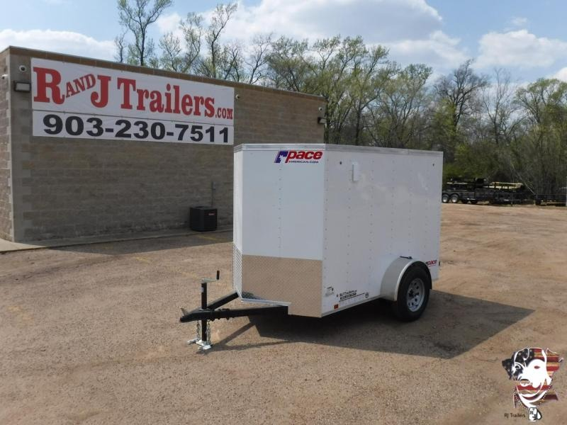 2019 Pace American 5 X 8 SA Enclosed Cargo Trailer