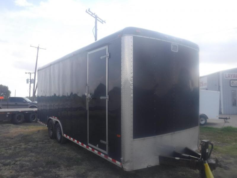 2016 Cargo Craft 8.5 x 24 Expodition Enclosed Cargo Trailer