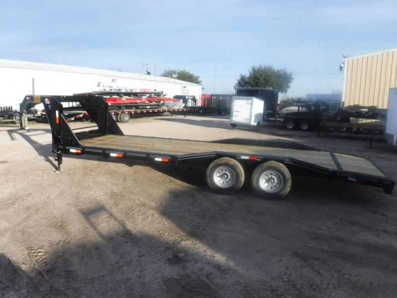 2019 Tiger 102 x 24 Gooseneck Equipment Trailer