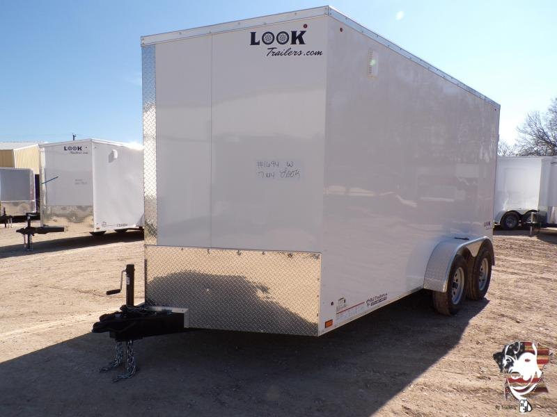 2020 Look Trailers 7 x 14 Element Slant V-Nose Enclosed Cargo Trailer