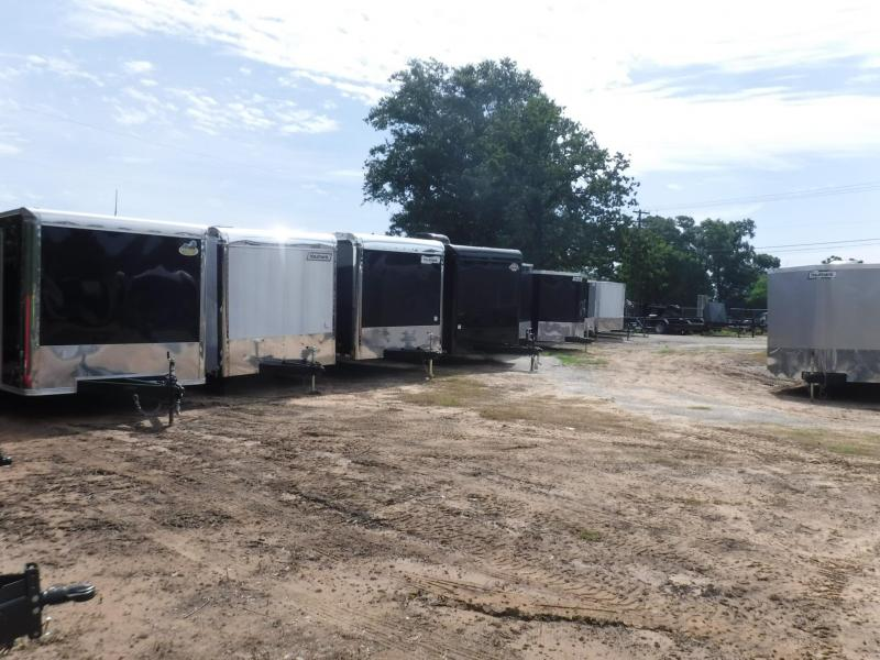 2019 TexLine 28' Cattle Stock / Stock Combo Trailer