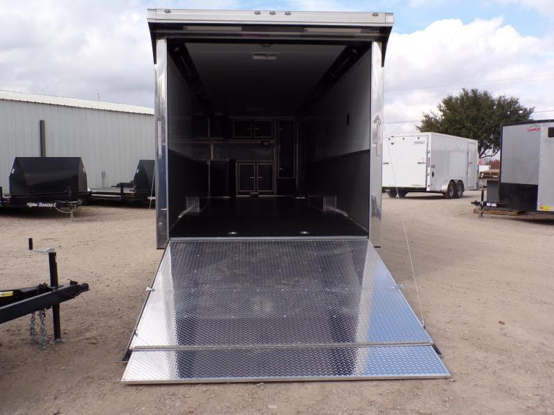 2019 Cargo Mate 8.5 x 32 Eliminator Car / Racing Trailer