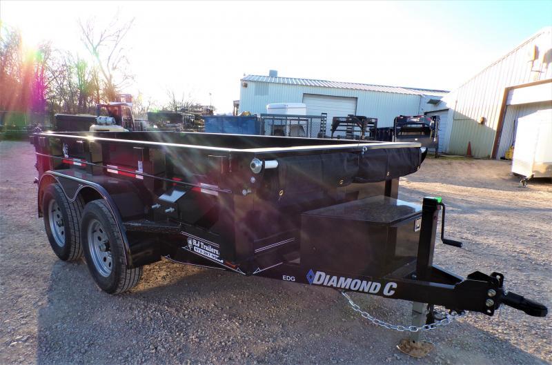 2020 Diamond C Trailers 5 x 10 EDG Dump Trailer