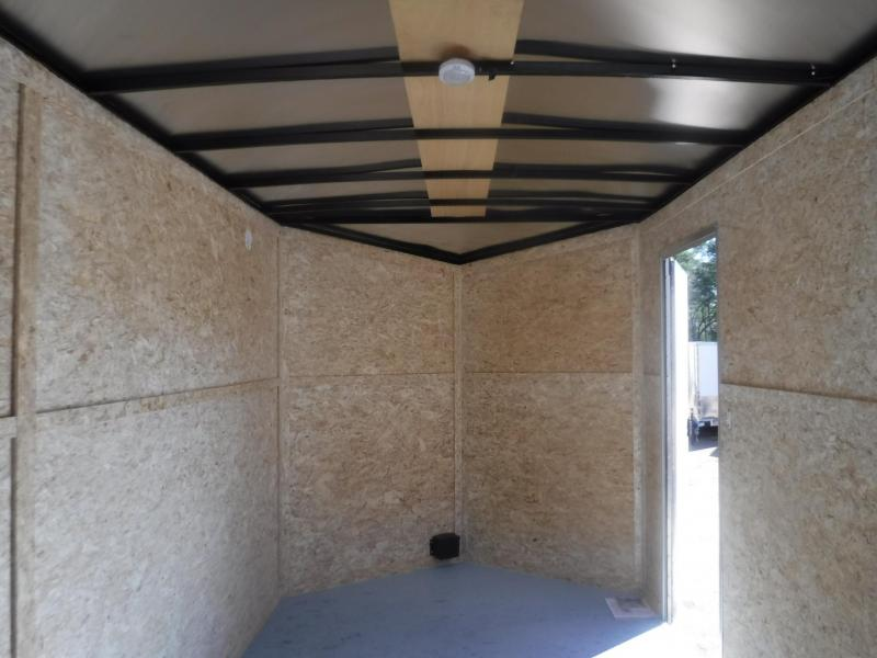 2020 Pace American 7 x 16 Journey Slant V-Nose Enclosed Cargo Trailer