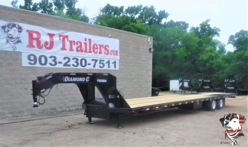 2020 Diamond C Trailers 102 x 40 FMAX212 Flatbed Trailer