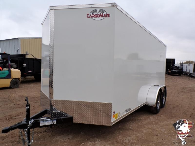 2021 Cargo Mate 7 x 16 LEE TA Enclosed Cargo Trailer