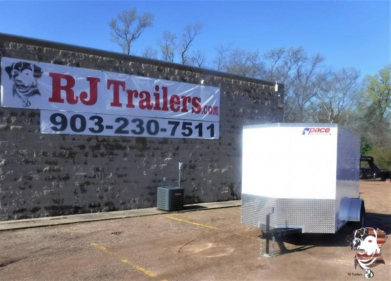 2021 Pace American 6 X 10 Journey Enclosed Cargo Trailer