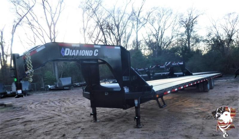 2020 Diamond C Trailers 102 X 40 FMAX210 Equipment Trailer