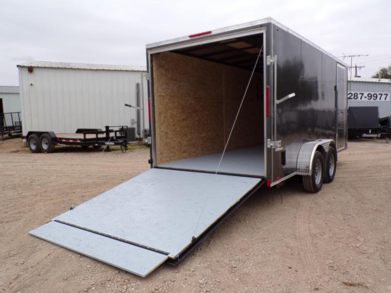 2020 Look Trailers 7 x 16 Ele Slant V-Nose Enclosed Cargo Trailer