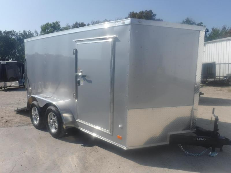 2020 Covered Wagon Trailers 7 x 12 Gold Series Low Rider Motorcycle Trailer
