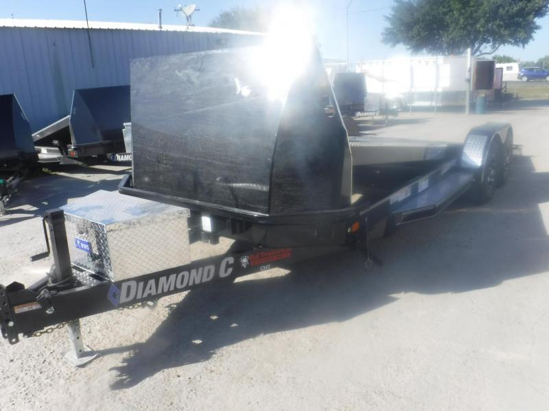 2019 Diamond C Trailers 83 x 22 CHT Car / Racing Trailer