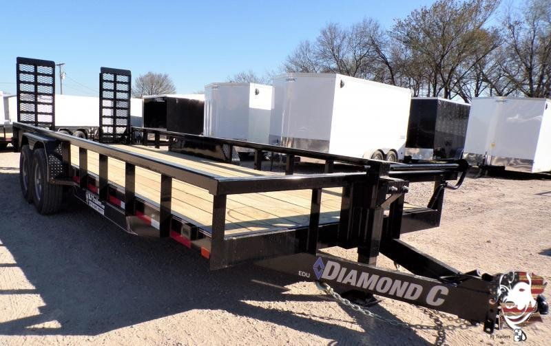 2020 Diamond C Trailers 82 x 22 EDU Equipment Trailer