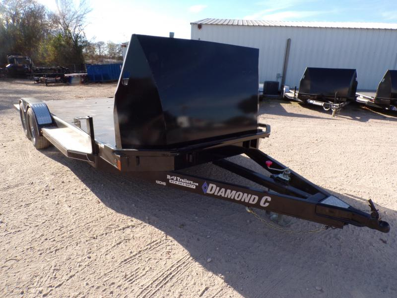 USED 2018 Diamond C Trailers 83 x 20 12CHS Car / Racing Trailer