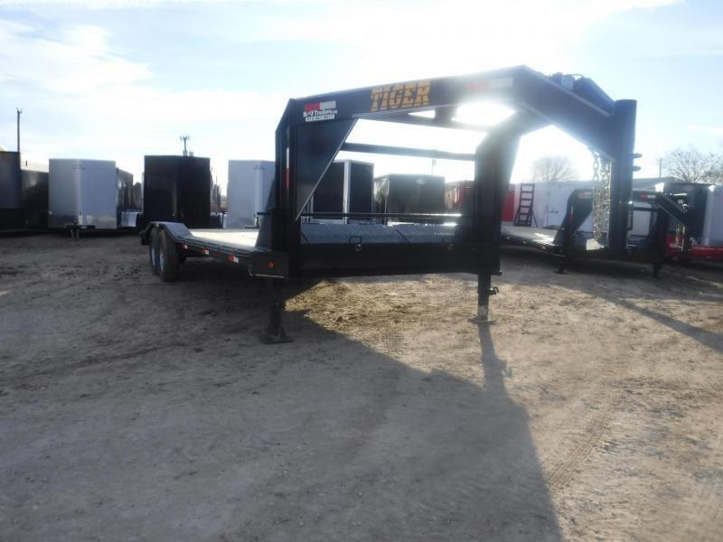 2019 Tiger 102 x 24 Gooseneck Equipment Trailer in  Witts Springs, AR